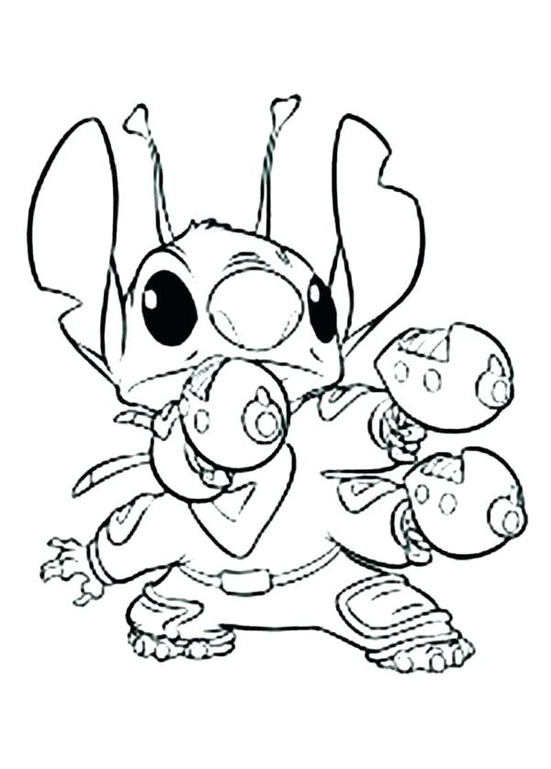 stitch coloring pagePrintable