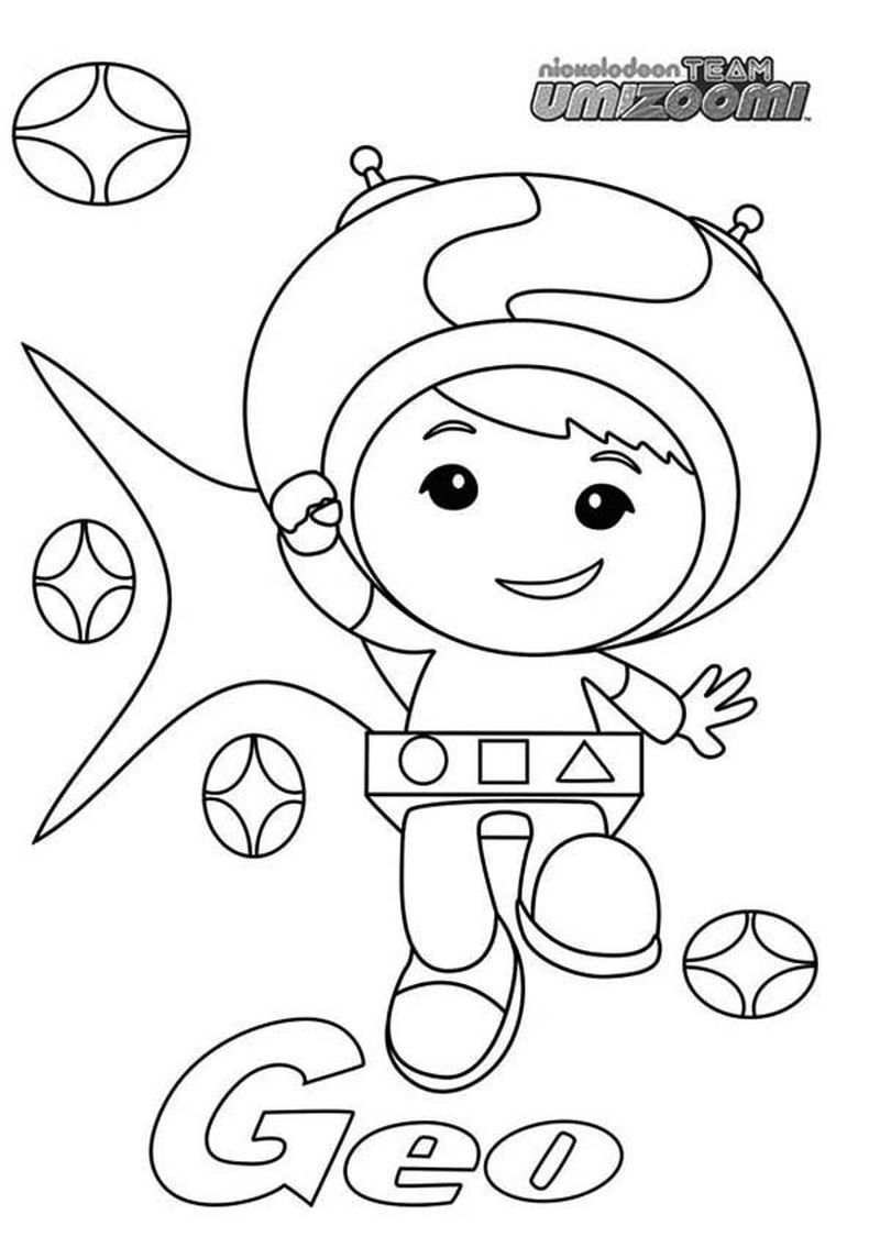 team umizoomi color sheets