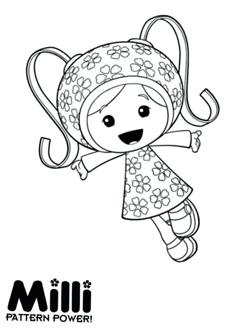 team umizoomi coloring pages free