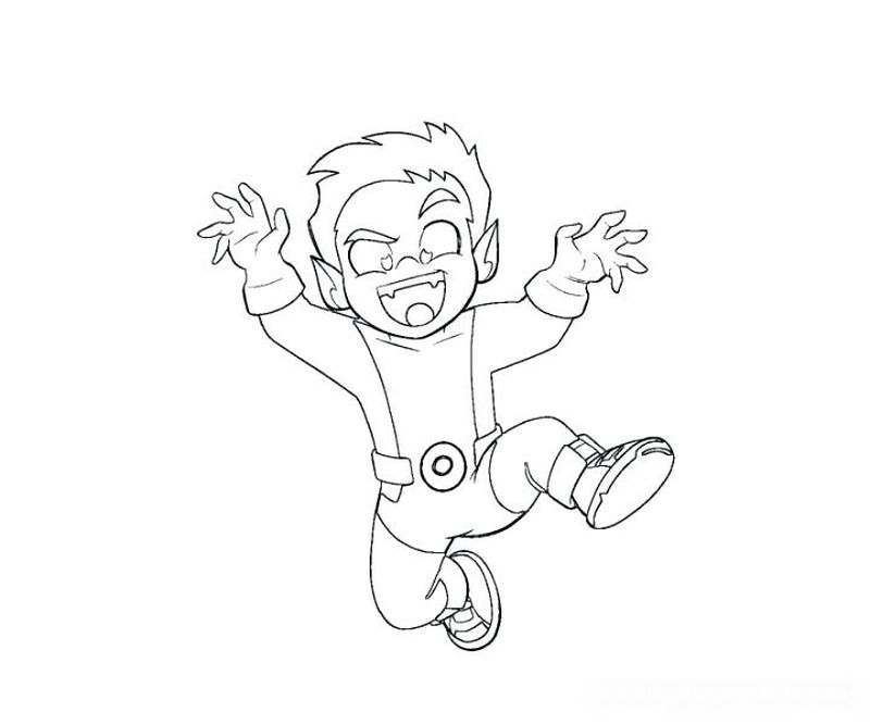 teen titans coloring sheets Printable