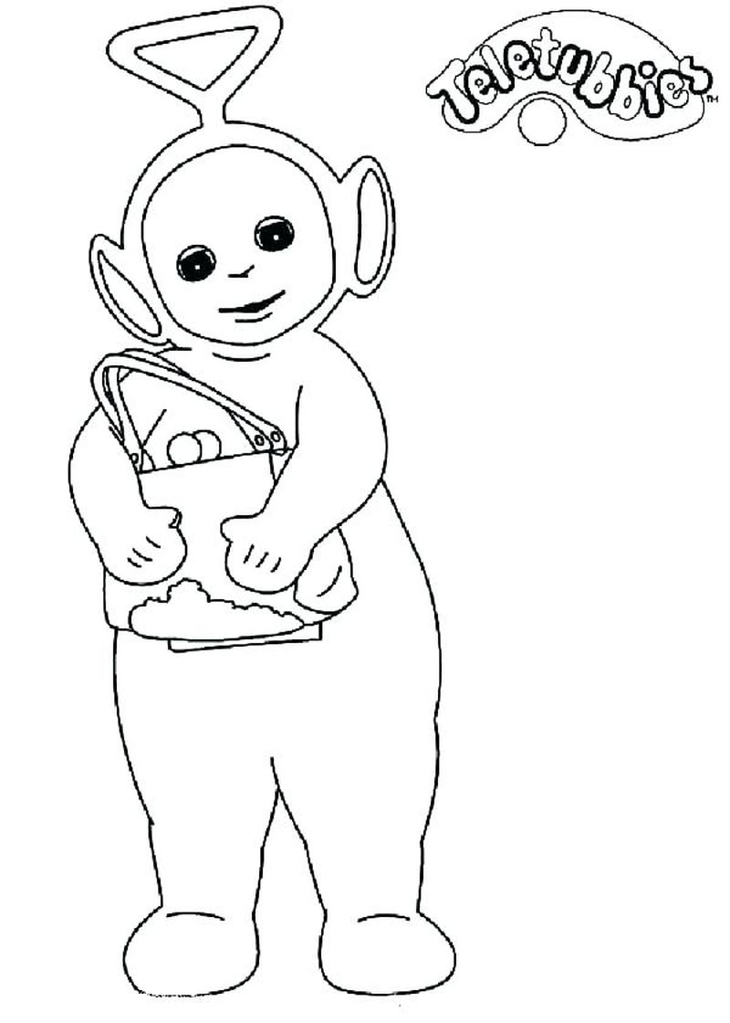 teletubbies coloring pages Printable Printable
