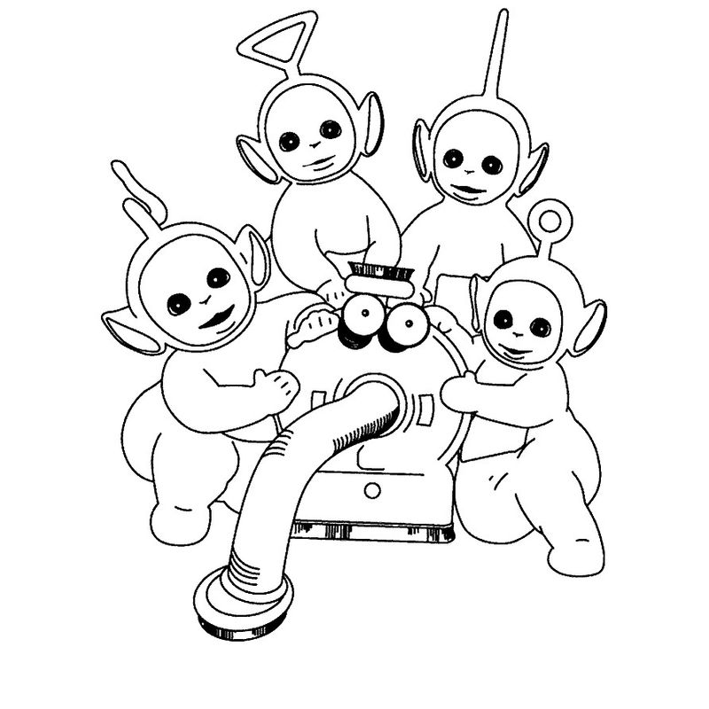 telletubbies coloring pages Printable Printable
