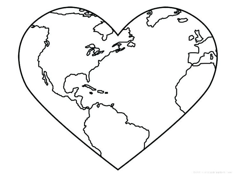 the earth coloring pagesPrintable
