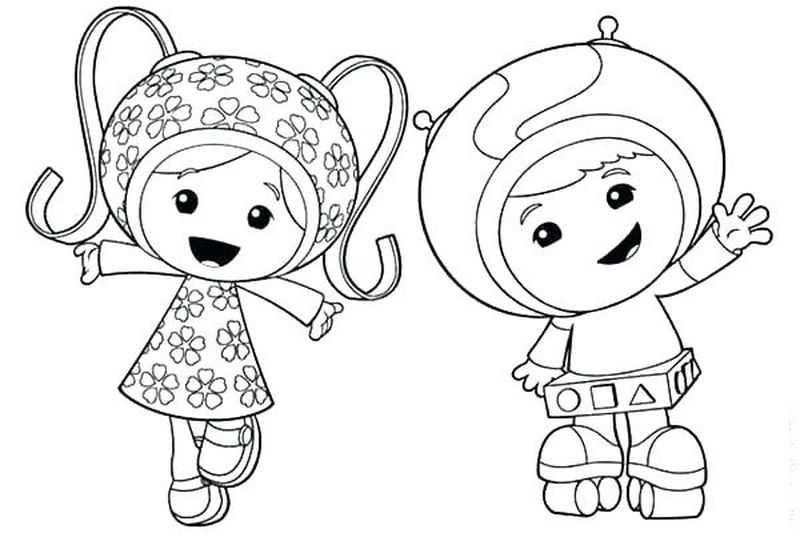umi zoomi coloring pages Printable