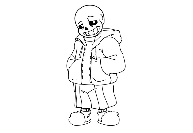 undertale and underswap and underfell papyrus coloring pages anime