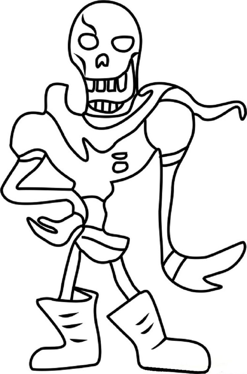 undertale coloring pages asril