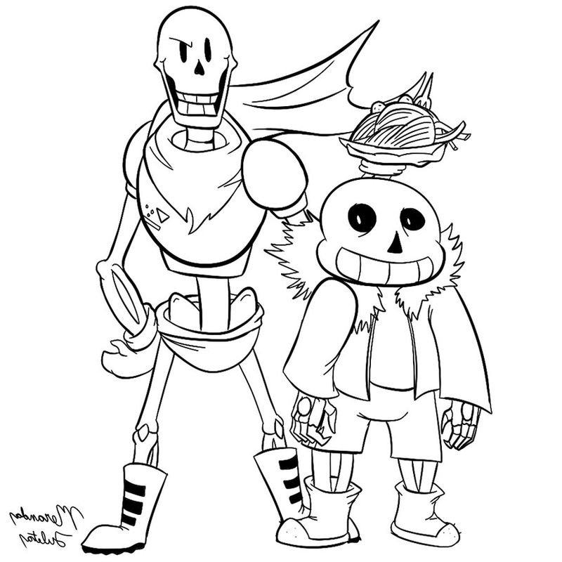 undertale coloring pages chara Printable