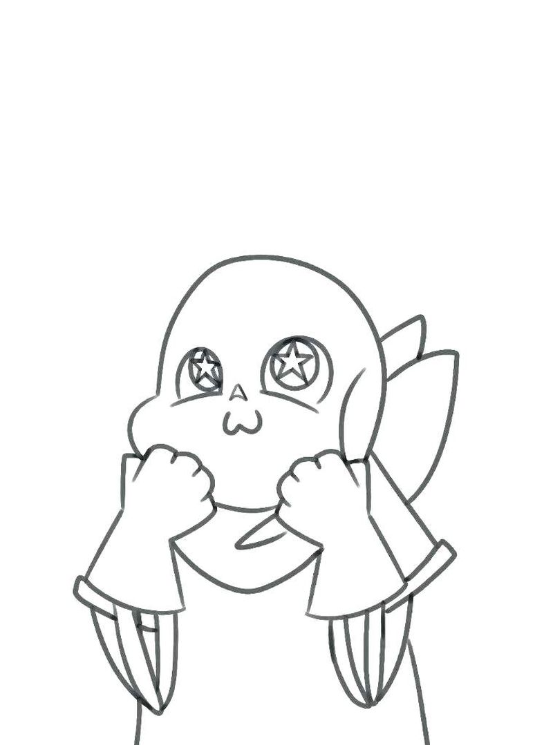 undertale metteton coloring pages Printable