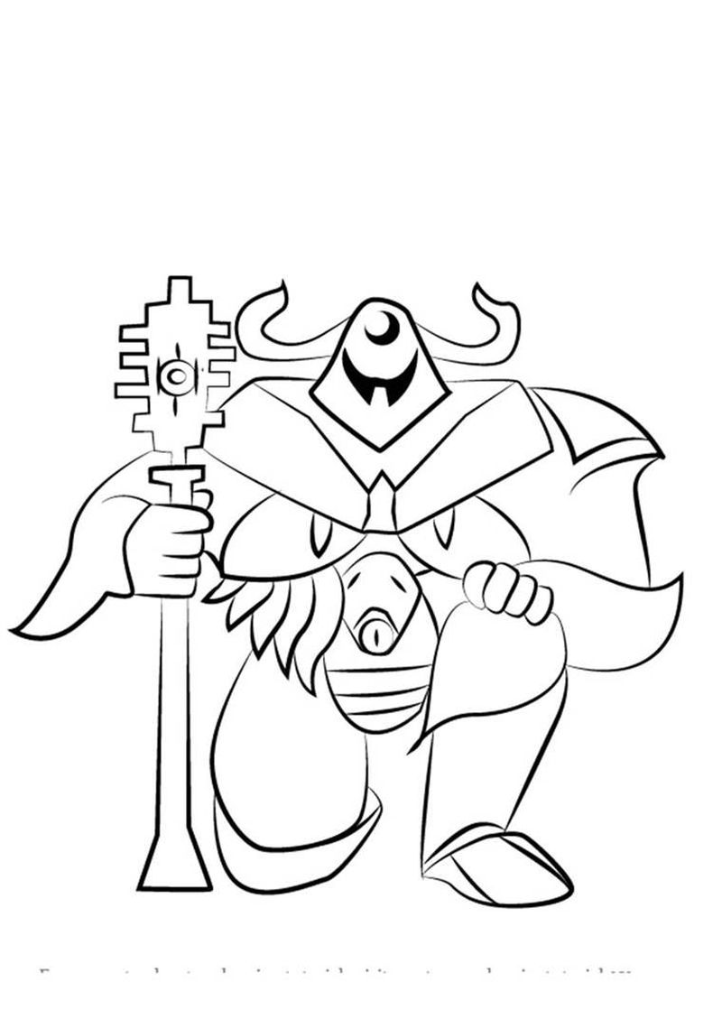 undertale temmie coloring pages Printable
