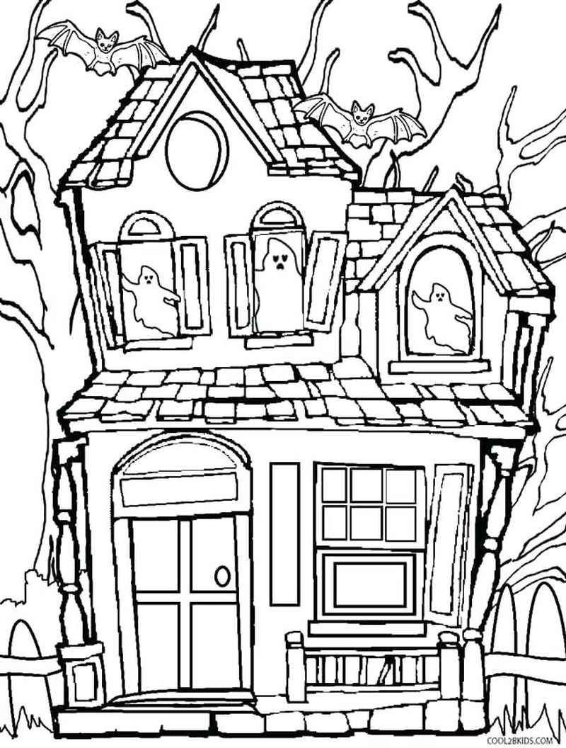 up house coloring pages Printable
