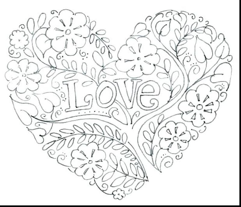 valentines cards coloring pages Printable