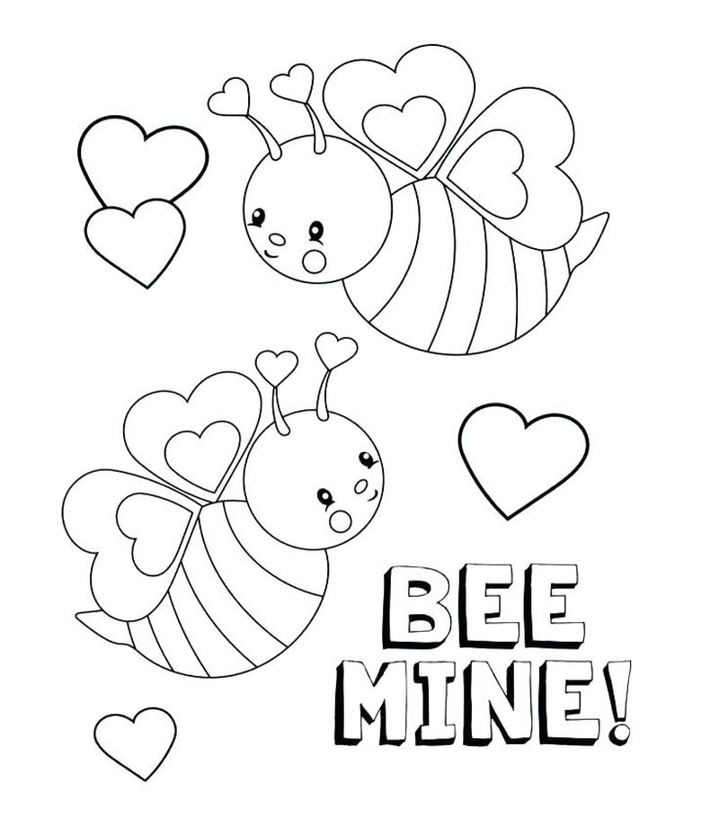 valentines coloring pages Printable Printable
