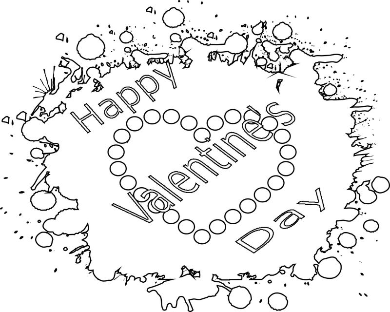 valentines day coloring pages free printable Printable