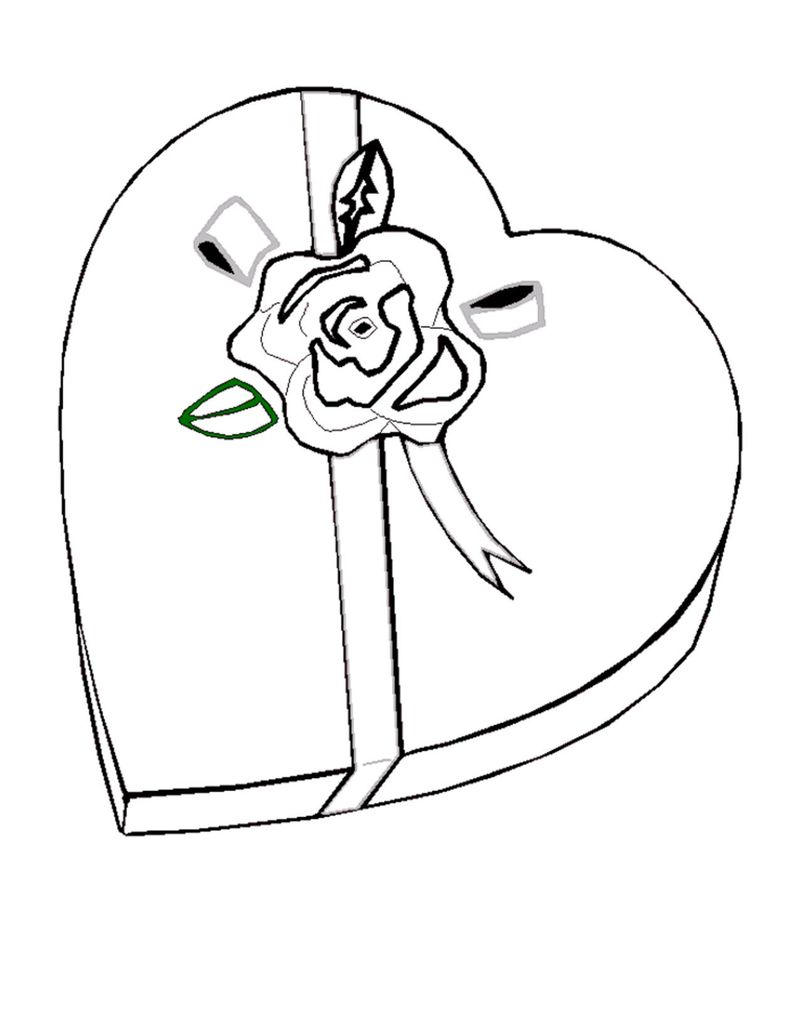 valentines day coloring pages pdf Printable