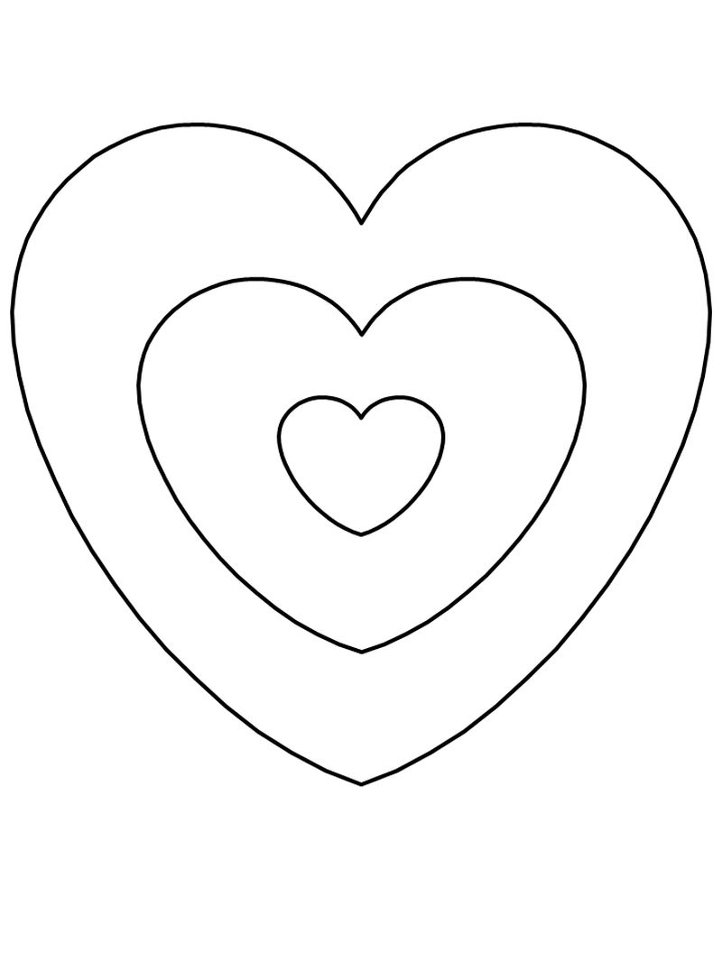 valentines days coloring pages Printable