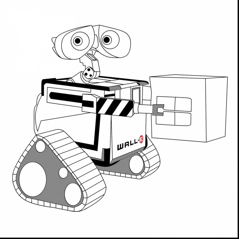 wall e color pages