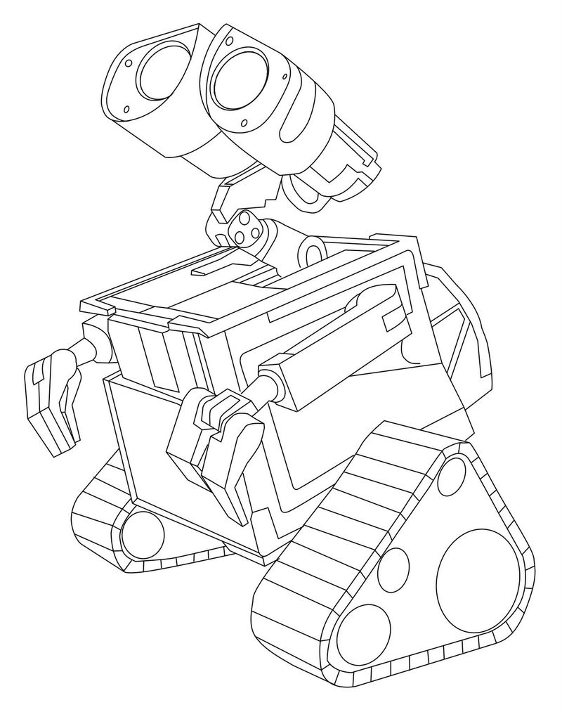 wall e pictures print