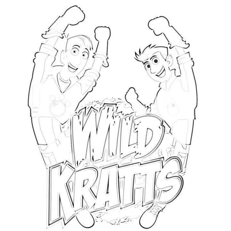 wild kratt brothers coloring pages