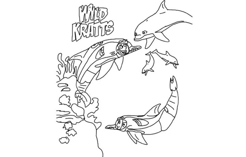 wild kratts coloring pages that you can print