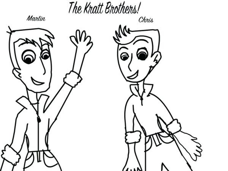 wild kratts tortuga coloring page