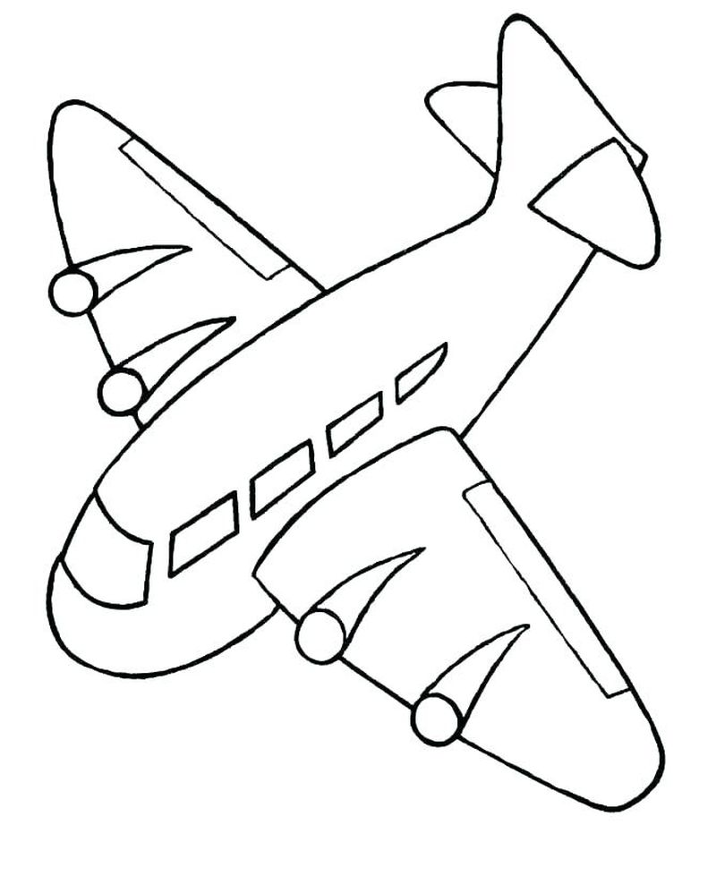 wwii planes coloring pages