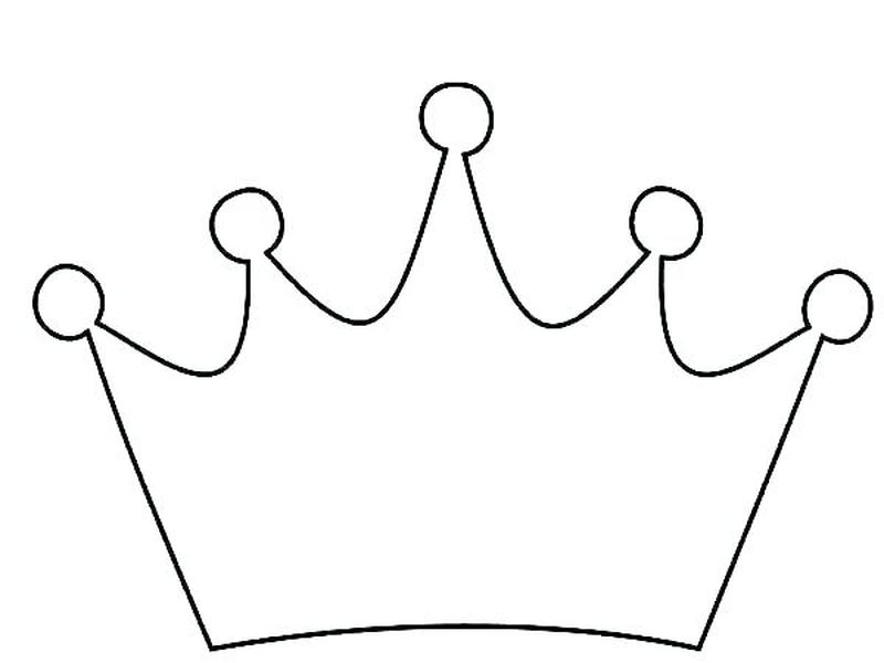 Beautiful Crown Coloring Pages Printable