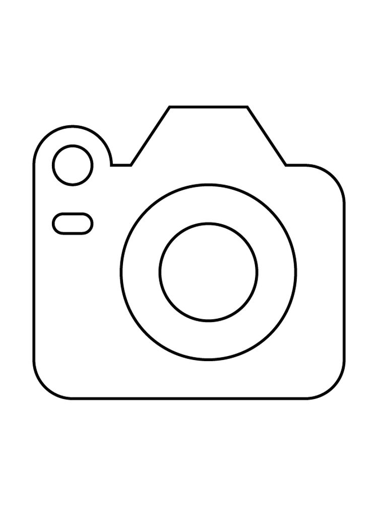 Camera Girl Coloring Pages Printable