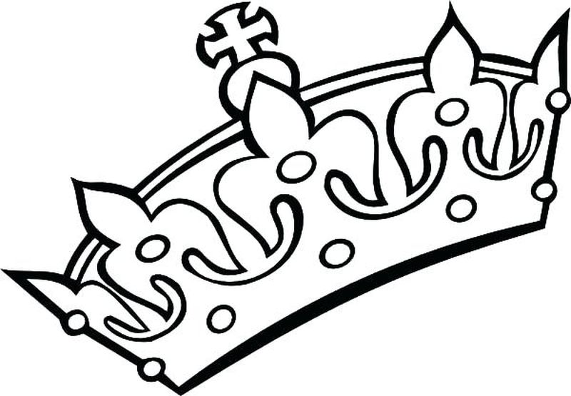 Coloring Pages For Crown Printable