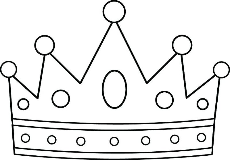 Crown Coloring PagesPrintable