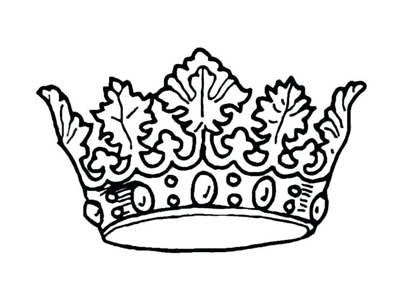 Crown Of Life Coloring Page Printable