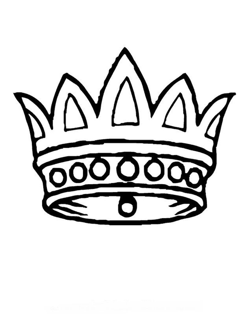 Crown Of Thorns Coloring Page Printable