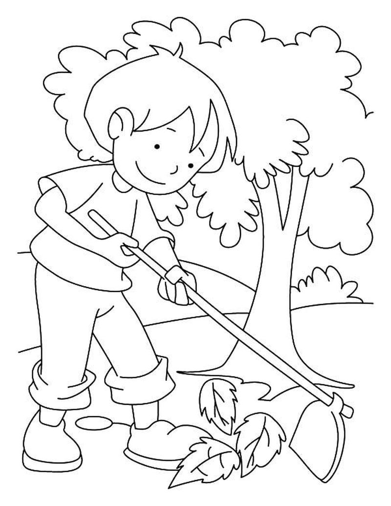 Free Arbor Day Coloring Pages To Print Image