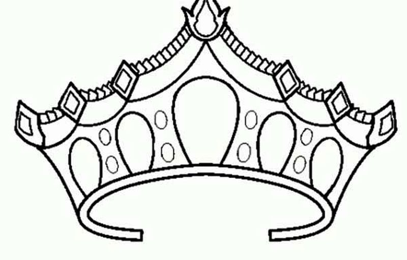 Free Crown Coloring Pages Printable