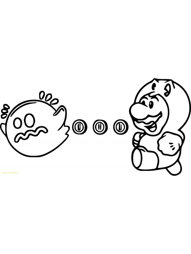 Free Printable Pac Man Coloring Pages Pdf