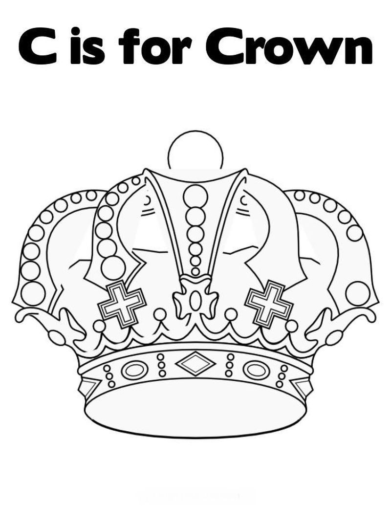 Girl With Flower Crown Coloring Page Printable