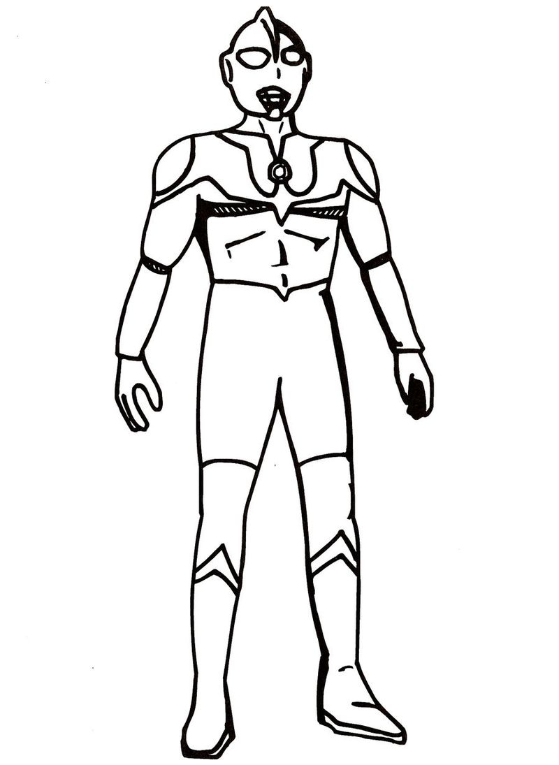 PRINTABLE coloring pages of ultraman
