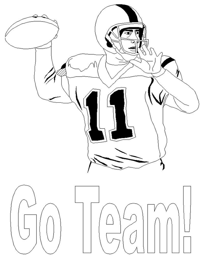 PRINTABLE coloring pages sports