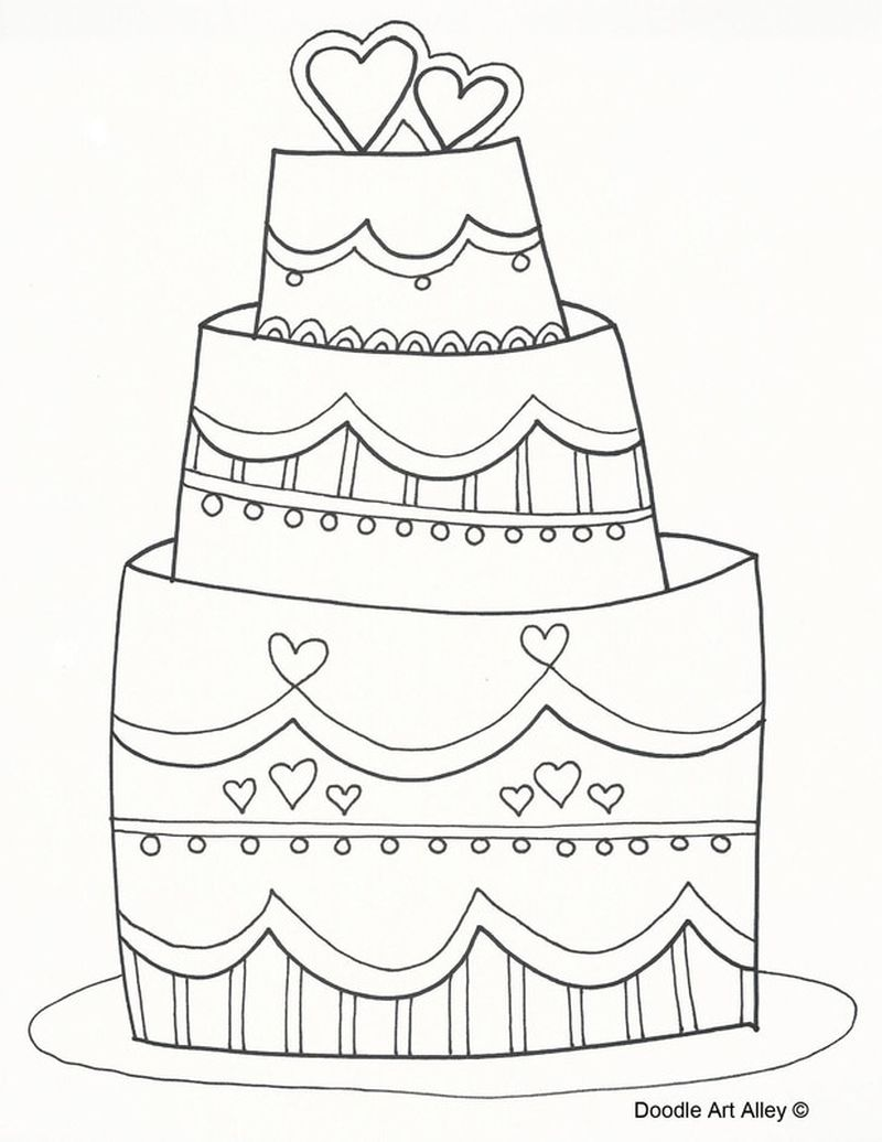 PRINTABLE disney wedding coloring pages