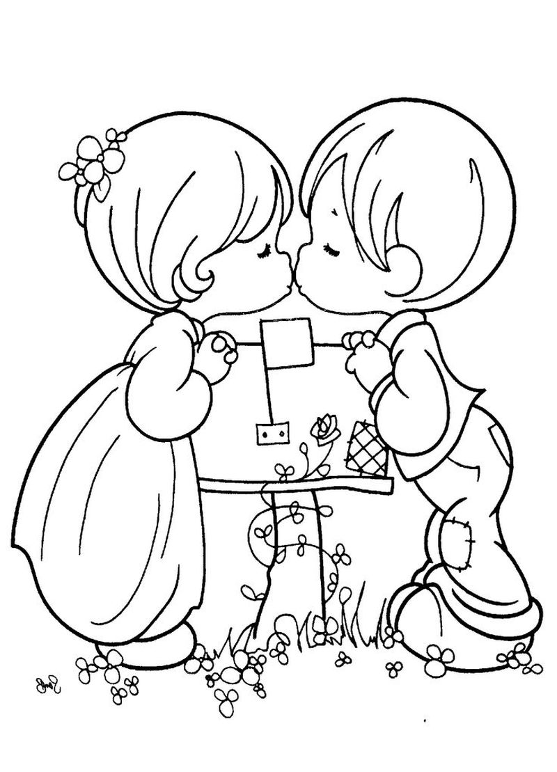 PRINTABLE wedding themed coloring pages