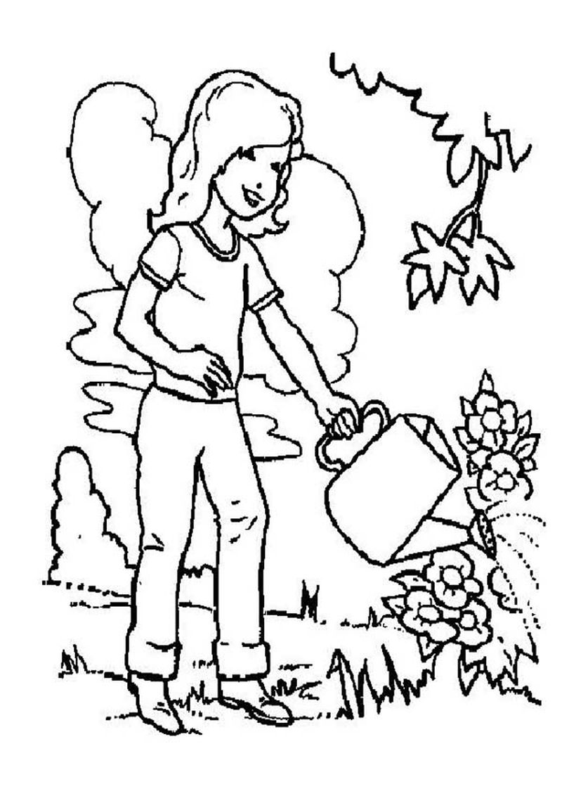 Printable Arbor Day Coloring Pages For Kids