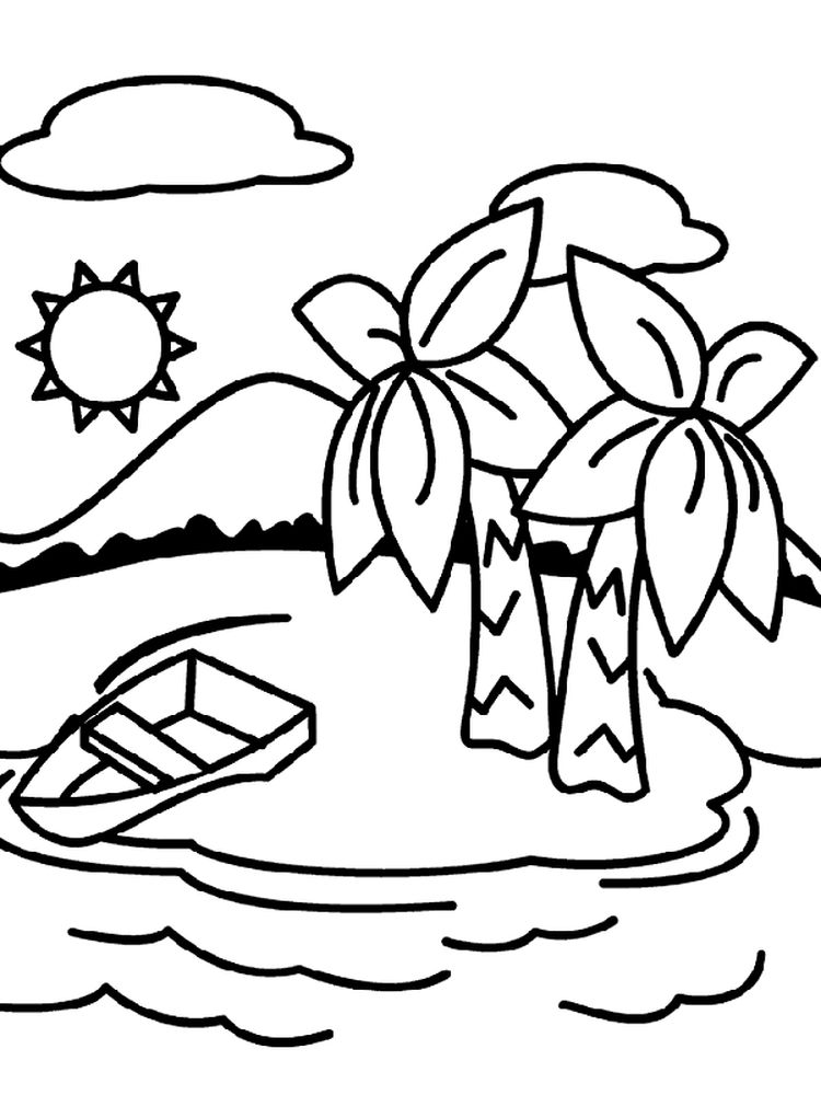 Printable Drama Island Coloring Pages