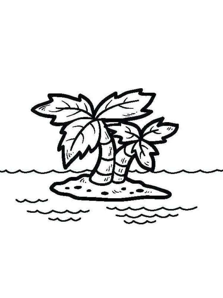 Printable Gilligans Island Coloring Pages