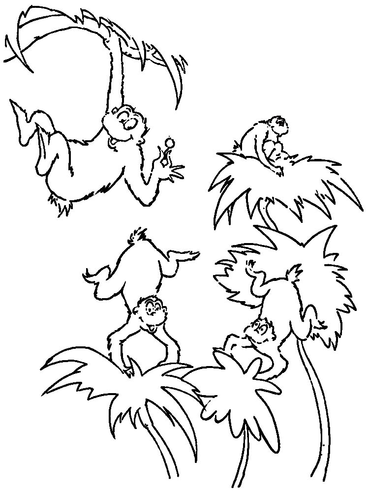 Printable Horton Hears A Who Coloring Page