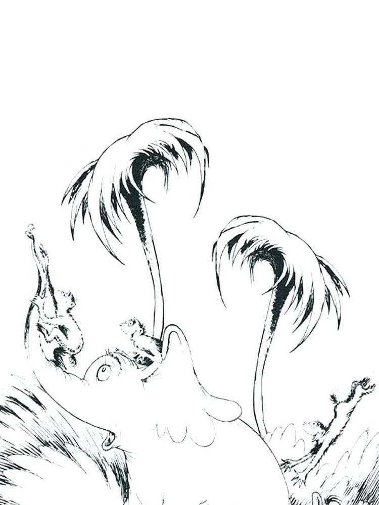 Printable Horton Hears A Who Coloring Pages