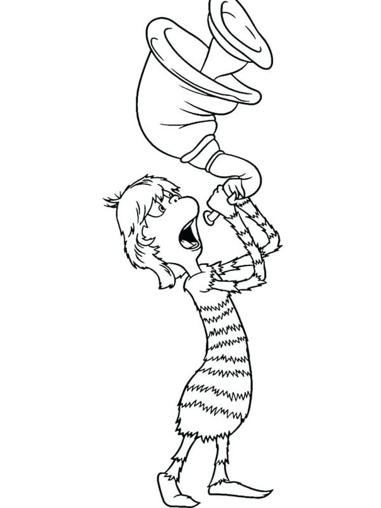 Printable Horton Hears A Who Free Coloring Pages