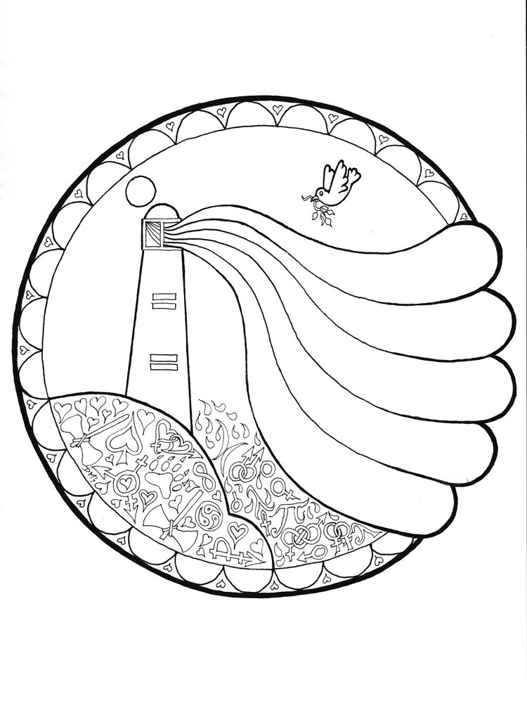Printable Lighthouse Coloring Pages For Preschoolers