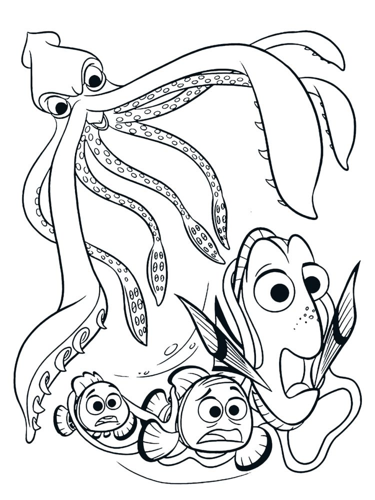 Printable Splatoon Squid Coloring Pages