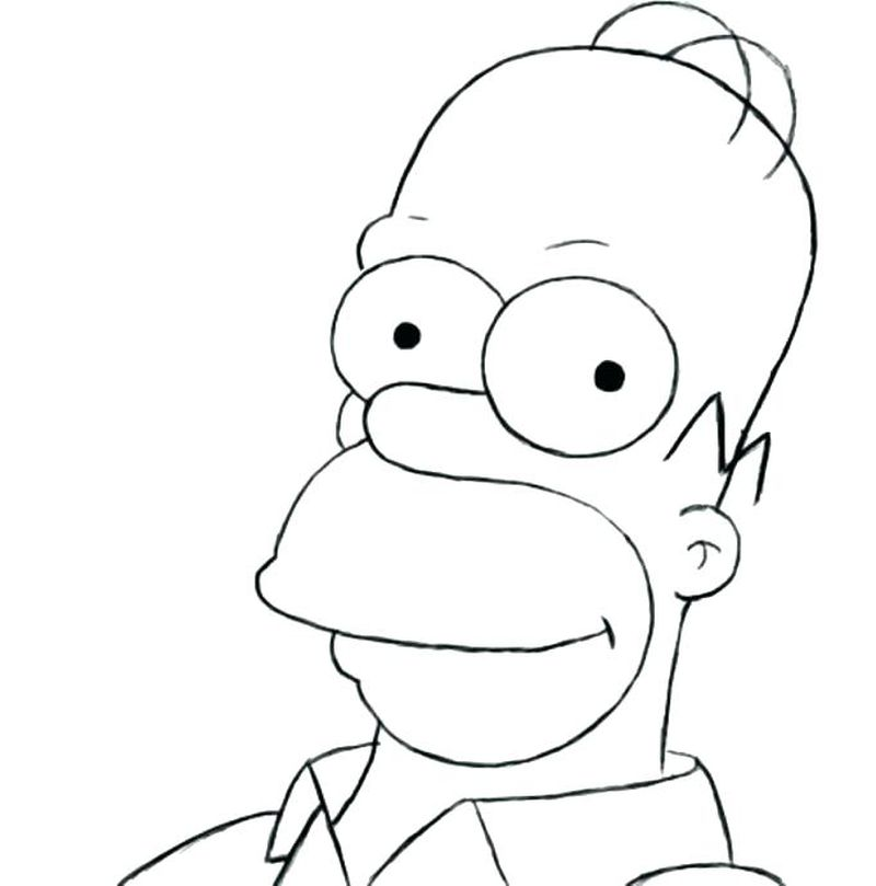 Printable The Simpson coloring pages Pdf print