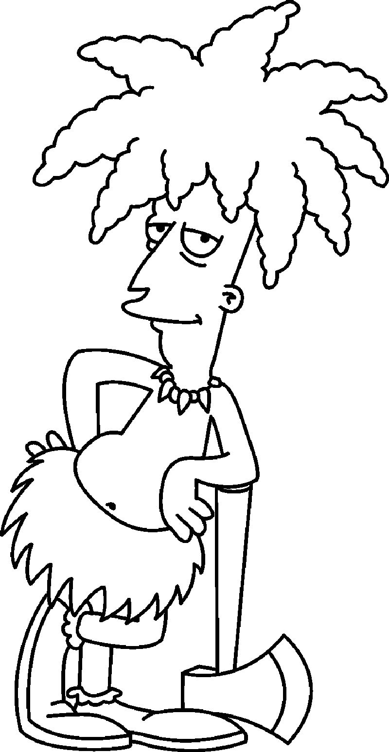 Printable The Simpson coloring pages prin free ok