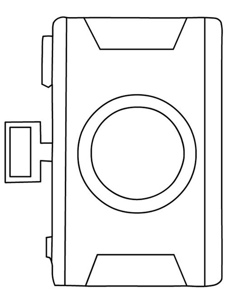 Printable camera coloring pages free